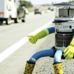 Эксперимент: что будет, если на трассу поставить работа-автостопера